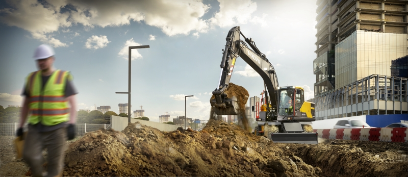 Volvo CE North America website